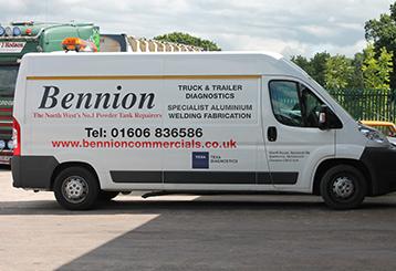 Bennion Commercial Repair - Bennion Business Van photo